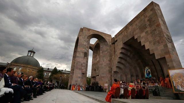 Gedenkgottesdienst in Eriwan