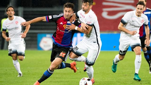 L'FC Basilea ha stuì dar tut per egualisar il gieu.
