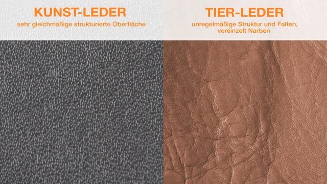 Leder und Kunstleder: Worin unterscheiden sie sich?