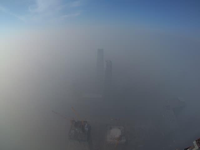 Smogglocke über Peking