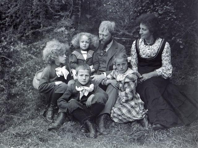 Porträt der Familie Giacometti