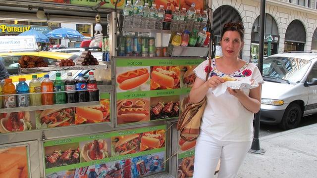 Daniela liebt das kulinarische Angebot in NYC.