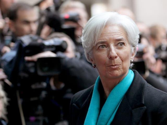 Nahaufnahme Lagarde