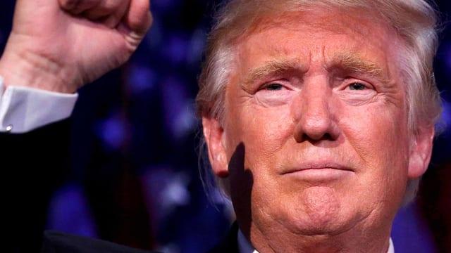 Trump, der Sieger.
