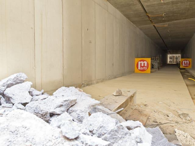 unterirdische Passage Kunsthaus