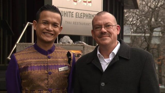 Video «Stadt Zürich – Tag 3 – Thai-Restaurant White Elephant, Zürich» abspielen