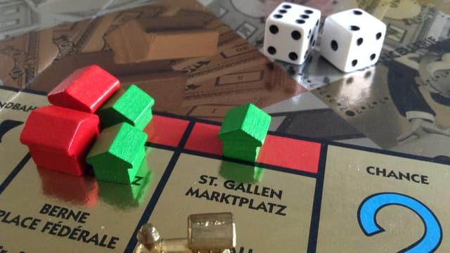 Monopoly-Spielfeld