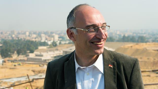 Porträt des designierten Museumsdirektor Tarek Tawfik