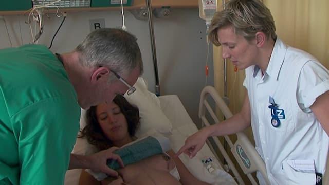 Sacha Polak im Spital