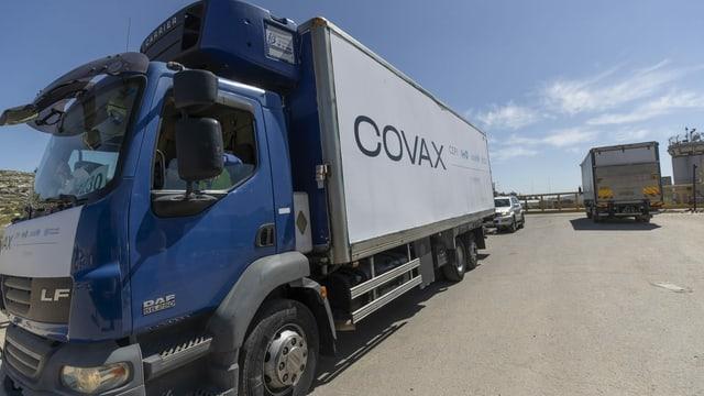 Covax-Lastwagen