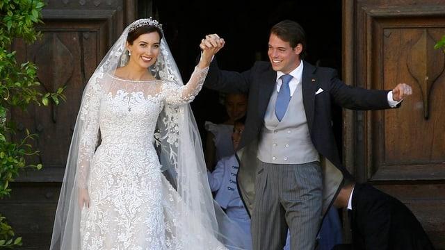 Prinz Félix von Luxemburg und Claire Lademacher