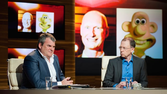 Video «Staffelstart mit Martin Landolt und Renato Kaiser» abspielen