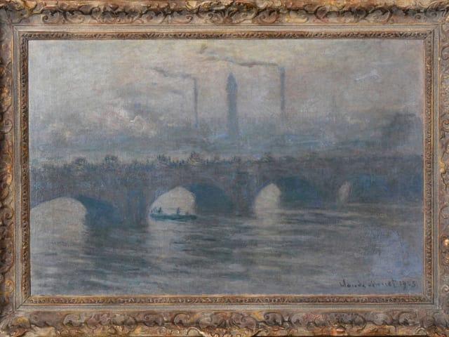 «Waterloo Bridge» (1903) von Claude Monet (1840-1926).