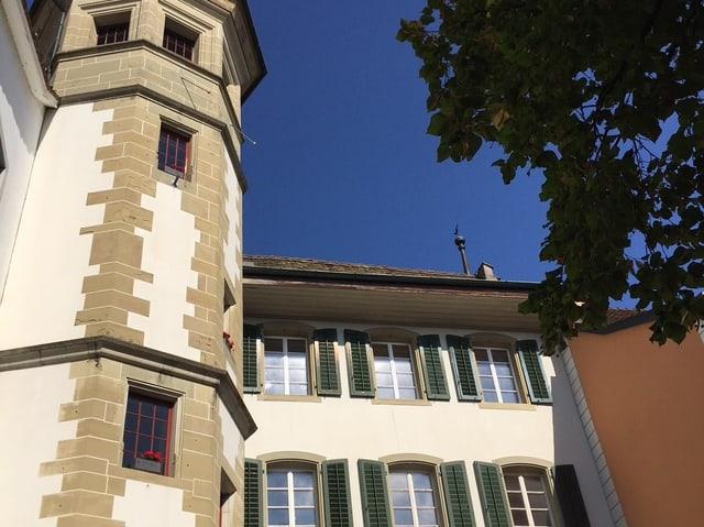 Das alte Stiftsgebäude in Zofingen