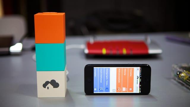 Bild der Homee-Applikation.