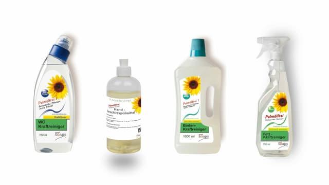 Verschiedene Produkte der Firma Good Soaps