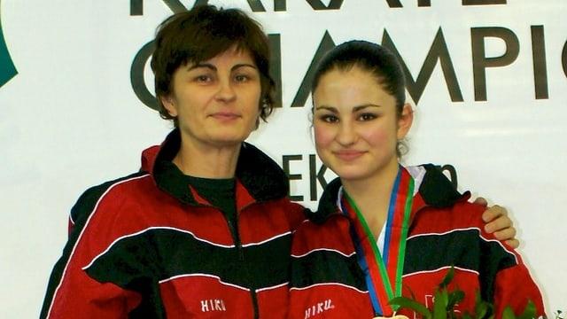 Brigitte Quirici (links) und ihre Tochter Elena aus Schinznach Dorf.