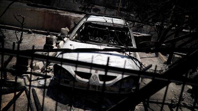 Purtret d'in auto ars en Grezia.