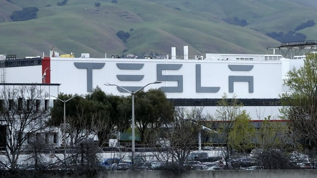 Tesla-Fabrik in Fremont/Kalifornien.