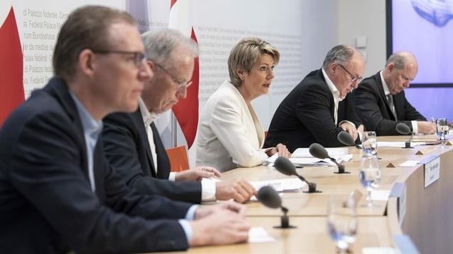 Die Medienkonferenz in Bern