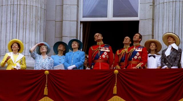 Die königliche Famile — Die Nachfolge ist gesichert