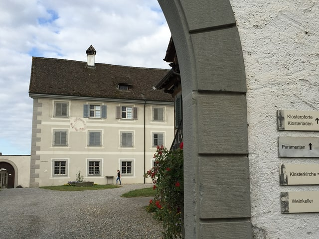 Eingang Kloster