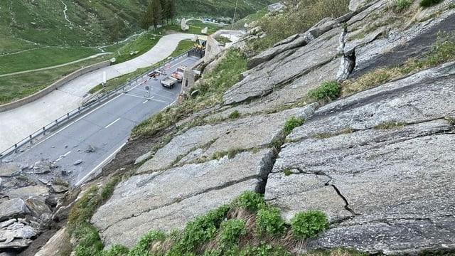 Crudada da crappa al Pass dal Lucmagn