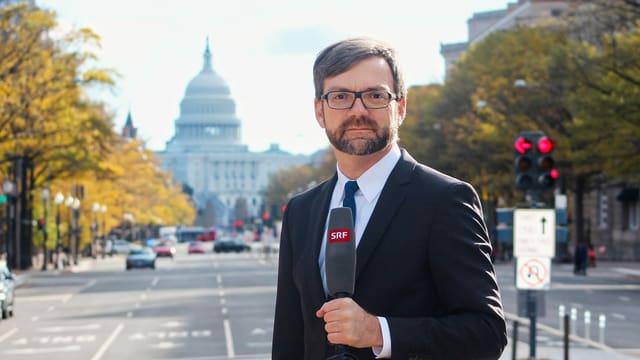 Peter Düggeli in Washington