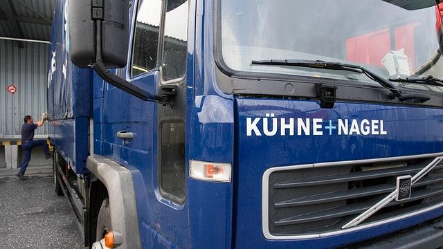 In camiun dal concern Kühne+Nagel.