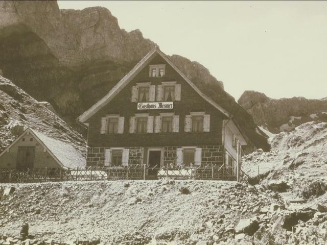 Erstes Berggasthaus Mesmer undatiert
