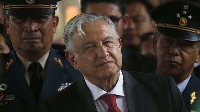 Mexikos Präsident Andrés Manuel López Obrador