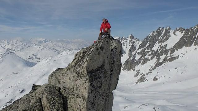 Video «Bernhard Russi – Von hohen Gipfeln und dunklen Tälern» abspielen