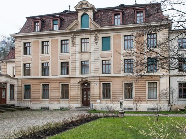 Aussenaufnahme Hautpgebäude Musikakademie Basel