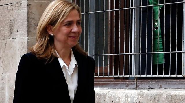 Felipes Schwester Cristina.