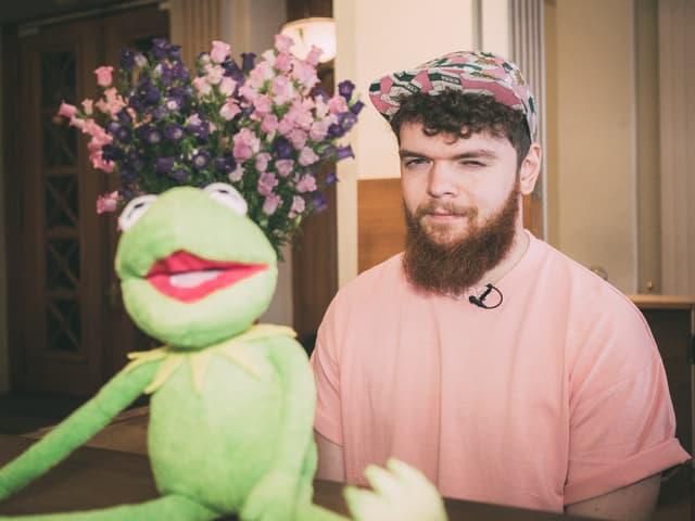 Kermit und Jack Garratt