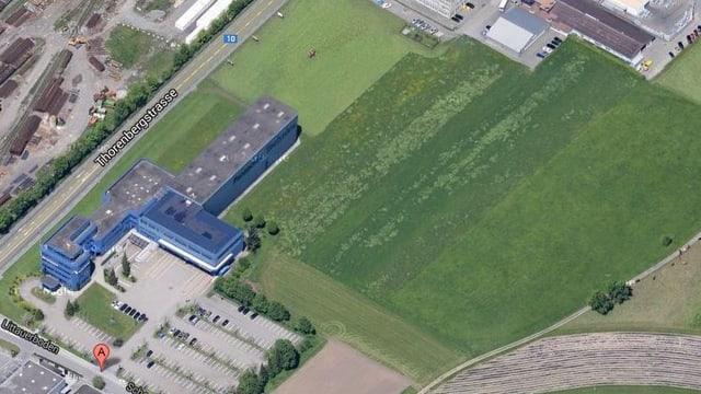 Luftaufnahme des Littauerboden.