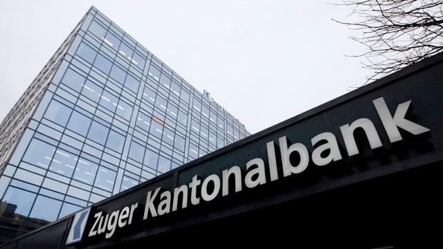 Der Hauptsitz der Zuger Kantonalbank.