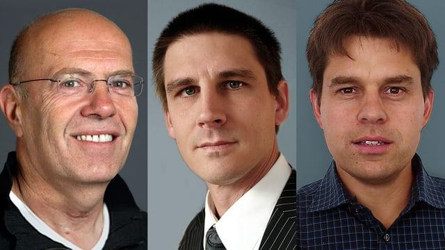 Portratiafuanhem der drei Chat-Experten