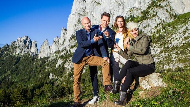 Video ««Lueget vo Berg und Tal»: Nationale 1. Augustsendung 2018» abspielen