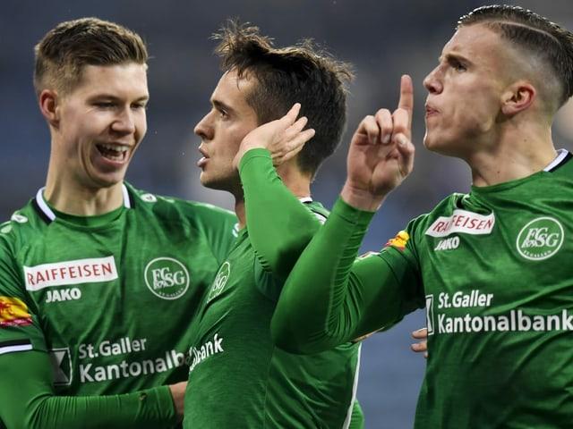 1. Triumph nach 10 Duellen - St. Gallen bricht den Luzern-Fluch mit klarem 4:1-Sieg