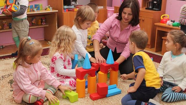 Gratis arbeiten im Kinderhort?