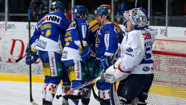 Langenthal steht im Halbfinal der NLB-Playoffs.
