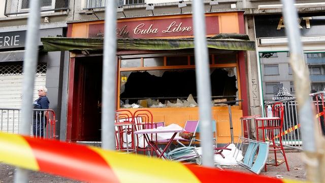 La bar Au Cuba Libre a Rouen en Frantscha, nua ch'in fieu ha mazzà almain 13 giuvenils.
