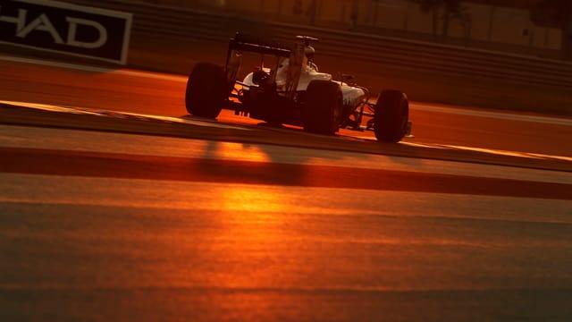 Die F1-Organisatoren reagieren auf schlechte Sichtverhältnisse wie hier beim GP von Abu Dhabi.