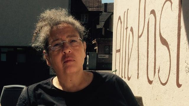 Die Gemeindepräsidentin von Wassen, Kristin T. Schnider.