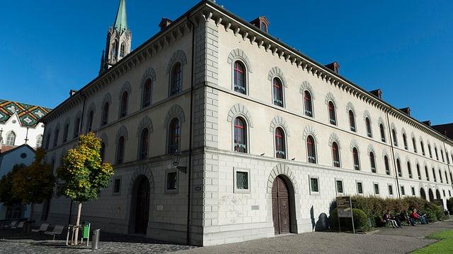 Das Gebäude des Kantonsgerichts