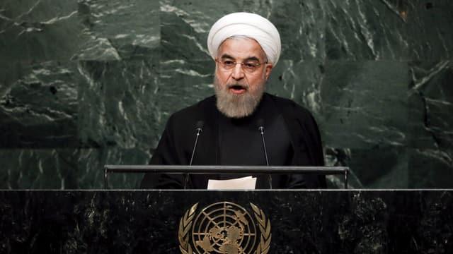 Il president iranais, Hassan Rohani, a l'inscunter da l'ONU a New York.