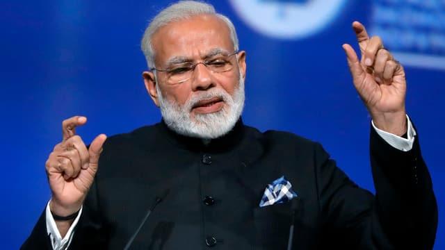 Der indische Premierminister Narendra Modi.