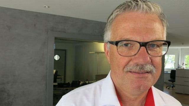 Porträtbild von Paul Vogel, Obmann des Eidgenössischen Schwingerverbandes.