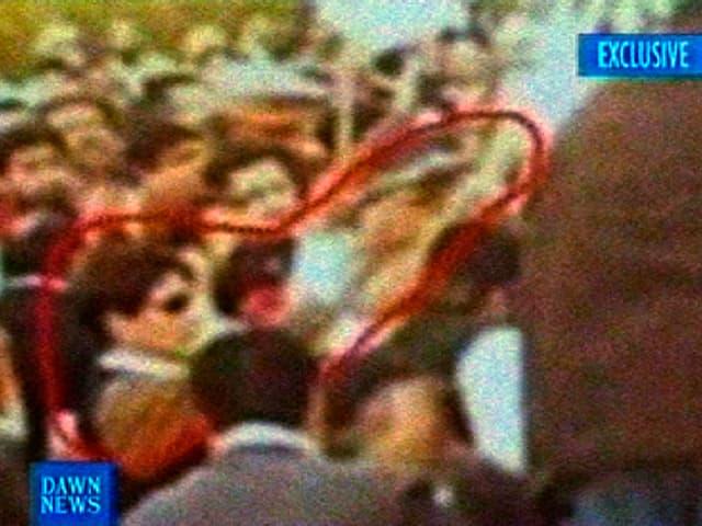 Der mutmassliche Mörder von Benazir Bhutto.